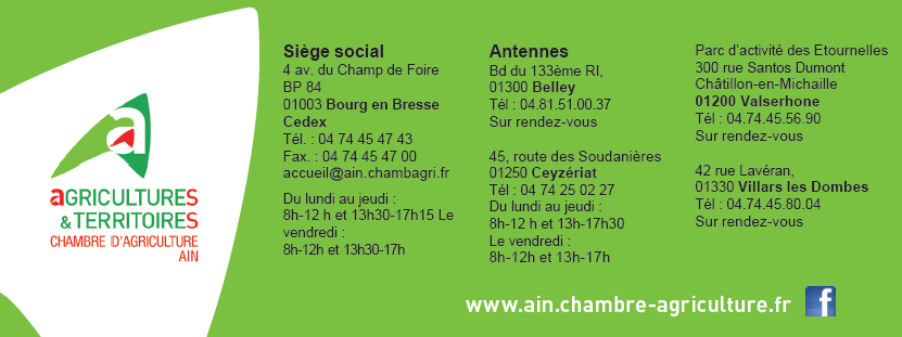 Organisation chambres d 39 agriculture auvergne rh ne alpes - Chambre agriculture rhone alpes ...