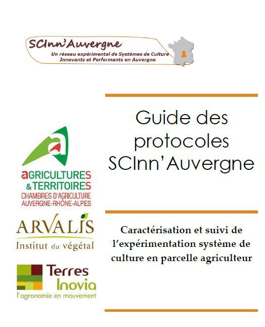 Guide des protocoles scin auvergne chambres d - Chambre agriculture alpes maritimes ...